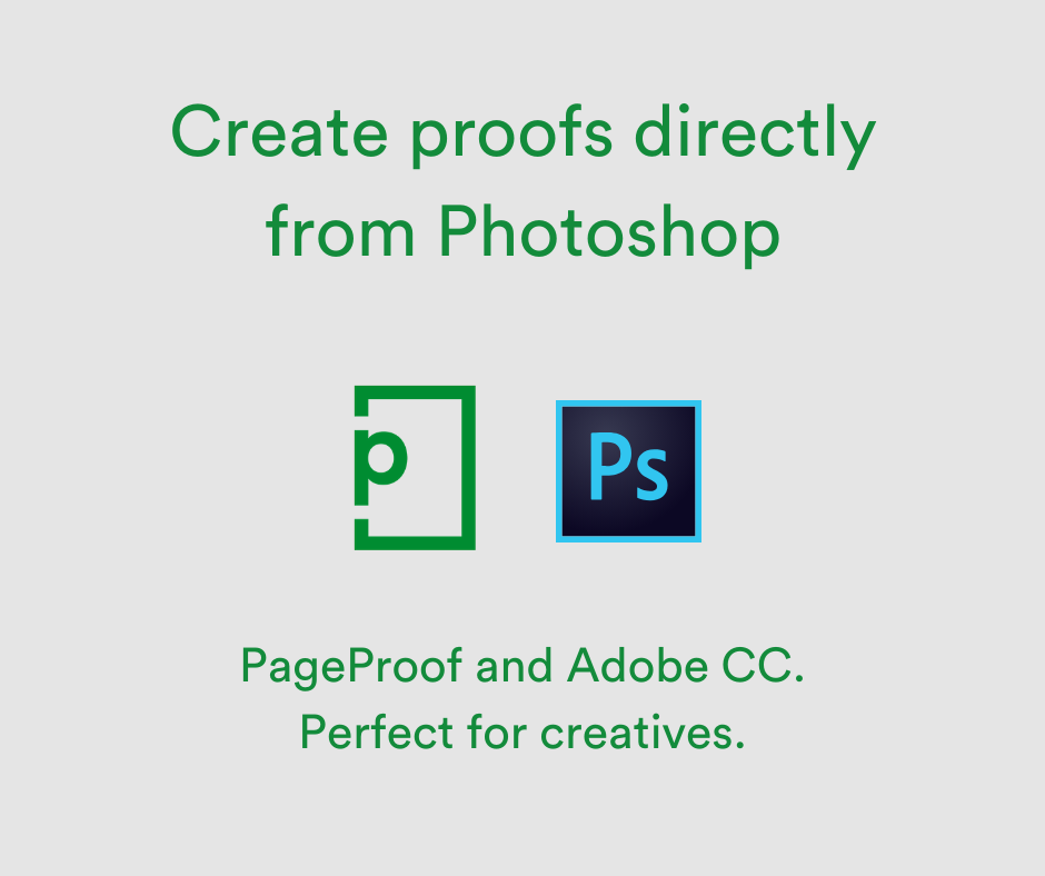 Using Adobe Photoshop with PageProof